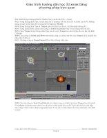 Giáo trình hướng dẫn học 3d xmas bằng phương pháp trực quan p1 docx
