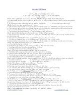 140 câu ôn tập phận tiến hóa ppt