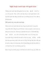 Nghệ thuật tranh luận với người khác pdf