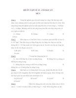 ĐỀ ÔN TẬP LÝ 12 – CÓ ĐÁP ÁN ĐỀ 9 docx