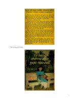 tự luyện phương pháp đọc nhanh phần 1 pdf