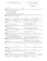 Trường THPT chuyên Huỳnh Mẫn Đạt - đề thi vật lý 11 chuyên (đề số 188) ppsx