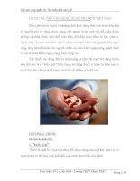 Tiểu luận công nghệ 10 - Tìm hiểu về lĩnh vực y tế ppt
