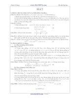 Đề thi thử Đại học năm 2011 của Trần Sỹ Tùng ( Có đáp án) - Đề số 7 pptx
