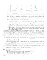 Cẩm nang các phương pháp giải nhanh đề thi ĐH môn Toán - Phần 4 pdf
