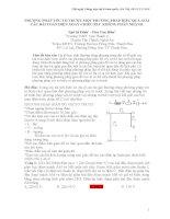 PHƯƠNG PHÁP VÉC-TƠ TRƯỢT-MỘT PHƯƠNG PHÁP HIỆU QUẢ GIẢI CÁC BÀI TOÁN ĐIỆN XOAY CHIỀU RLC KHÔNG PHÂN NHÁNH. potx