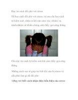 Dạy trẻ cách đối phó với stress ppt