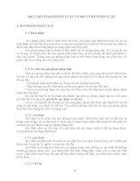 Giáo trình - Luật bảo vệ thực vật-bài 2&3 pptx