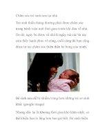 Chăm sóc trẻ sinh non tại nhà pdf