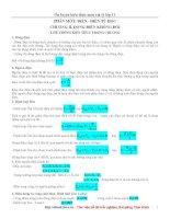 Ôn tập vật lí 11 chương 2 pptx