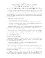 Giáo trình -Định giá sản phẩm xây dựng cơ bản - chương 5 docx