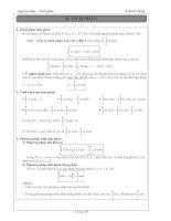 Tài liệu ôn toán - Bài tập giải tích lớp 12 - phần 7 ppsx