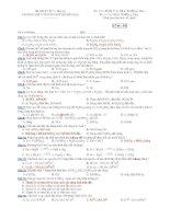 Trường THPT chuyên Huỳnh Mẫn Đạt - đề thi hóa học 12 nâng cao (đề số 425) docx