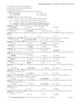 Tài liệu ôn thi hóa học lớp 12 trường thpt Phan Ngọc Hiển - phần 2 potx