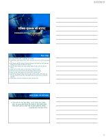 Bài giảng Kế toán tài chính  Chương 1: Tổng quan về kế toán tài chính