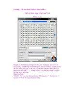 Những điều cần biết về Window Vista phần 1 pdf