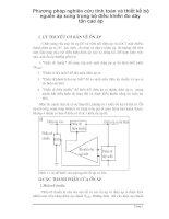 Phương npháp nghiên cứu tính toán và thiết kế bộ nguồn áp xung trong bộ điều khiển đo dãy tần cao áp p1 pdf