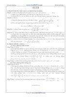 Đề thi thử Đại học năm 2011 của Trần Sỹ Tùng ( Có đáp án) - Đề số 8 doc