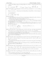Tài liệu ôn toán - Bài tập hình học lớp 12 - phần 10 docx