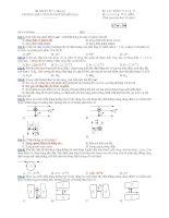Trường THPT chuyên Huỳnh Mẫn Đạt - đề thi vật lý 11 căn bản (đề số 384) pps