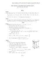 Một số bài tập hình học không gian có lời giải pot