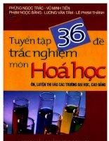 TỔNG HỢP 36 ĐỀ THI THỬ CAO ĐẲNG - ĐAI HỌC 2011 : HƯỚNG DẪN ĐÁP ÁN ĐỀ 01-10 ppsx