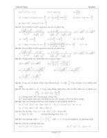 Tài liệu ôn toán - Bài tập giải tích lớp 12 - phần 9 doc