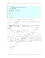 CÔNG NGHỆ GRID COMPUTING VÀ ỨNG DỤNG THỬ NGHIỆM TRONG BÀI TOÁN QUẢN TRỊ MẠNG - 10 ppt