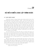 Giáo trình- Đo lường và điều khiển bằng máy tính- chương 9 docx
