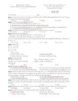 Trường THPT chuyên Huỳnh Mẫn Đạt - đề thi hóa học 12 chuyên (đề số 372) pps