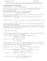 Chuyên đề ôn thi đại học môn toán - Phương trình, bất phương trình, hệ phương trình đại số pot