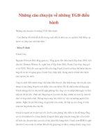 Những câu chuyện về những TGĐ điều hành pdf