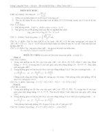 ÔN THI ĐẠI HỌC, CAO ĐẲNG MÔN TOÁN - Đề thi số 5 pdf