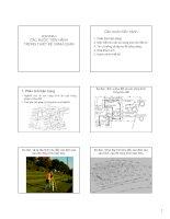 Bài giảng Nguyên lý thiết kế cảnh quan  Chương 4: Các bước tiến hành trong thiết kế cảnh quan