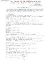 dùng tính đơn điệu của hàm số để giải các dạng phương trình, bất phương trình mũ , logarit.