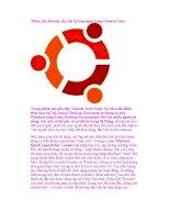 Thêm, xóa bỏ hoặc sắp xếp lại ứng dụng trong Ubuntu potx