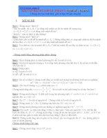 bài tập đại số lớp 10 phần mệnh đề, hàm số
