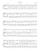 Bản nhạc Clocks pdf