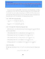 sử dụng giá trị lớn nhất, giá trị nhỏ nhất của hàm số để chứng minh bất đẳng thức, giải phương trình và bất phương trình