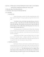 CHƯƠNG 1: TỔNG QUAN VỀ BẢO HIỂM PHI NHÂN THỌ VÀ HỆ THỐNG KÊNH PHÂN PHỐI BẢO HIỂM PHI NHÂN THỌ pdf