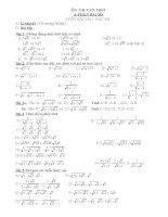 Hệ thống bài tập toán 9 hay