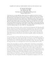 NGHIÊN CỨU CHẾ TẠO THIẾT BỊ PHUN XÓI TIA NƯỚC ÁP SUẤT CAO ppsx