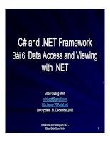 Ngôn ngữ lập trình: C# và .NET phần 6 pps