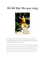 Bồ Đề Đạt Ma qua sông pdf