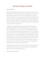Giáo dục và nâng cao sức khỏe - Adam O. Goldstein pdf