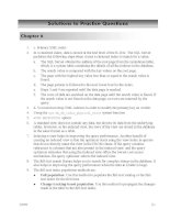 Solutions to Practice Questions - Chapter 6 docx