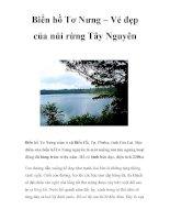 Biển hồ Tơ Nưng – Vẻ đẹp của núi rừng Tây Nguyên pot