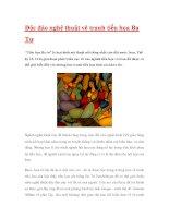 Độc đáo nghệ thuật vẽ tranh tiểu họa Ba Tư ppsx