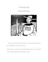 SỰ TÍCH HỒ GƯƠM (Truyện kể cho trẻ nghe ) pptx