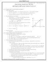 Phương pháp sử dụng số phức để giải toán vật lý potx